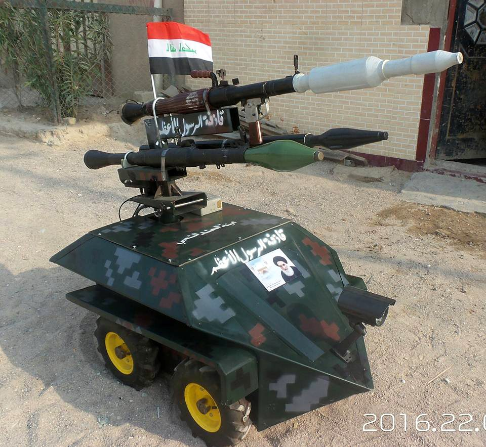 DIY Drones Happen Everywhere Even In The Backyards Of Baghdad